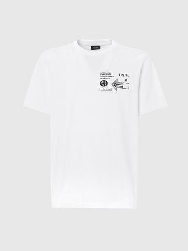 T-shirt avec logo imprimé graphique