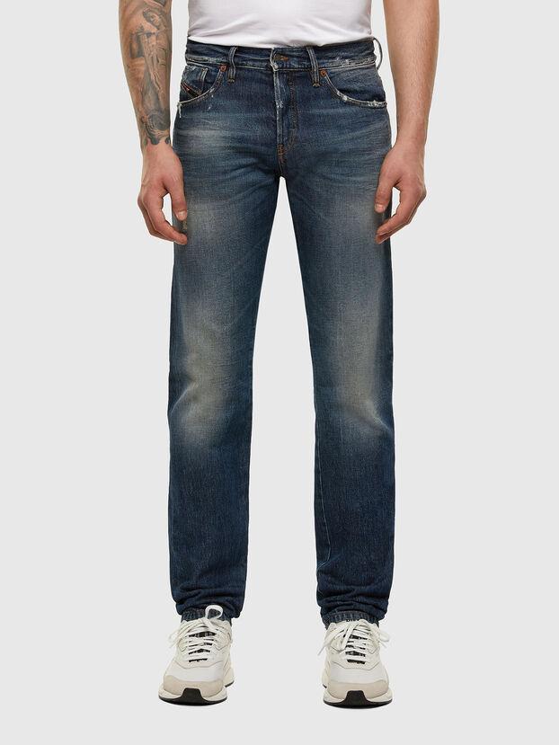 D-Kras 009EW, Bleu Foncé - Jeans