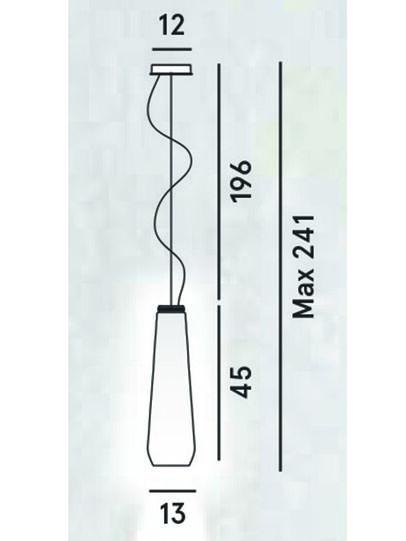 Diesel - GLAS DROP, Gris - Suspensions - Image 2