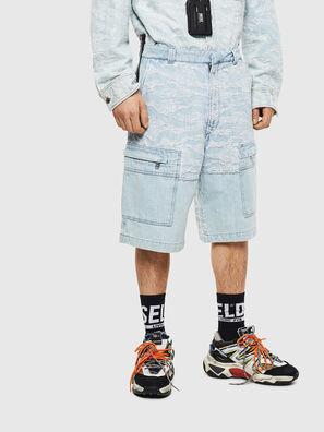 D-LUK-SHORT, Bleu Clair - Shorts