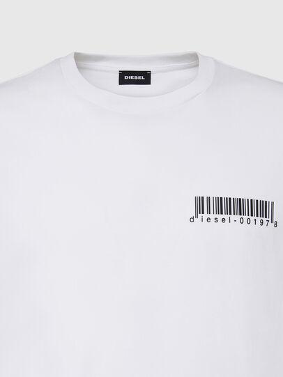 Diesel - T-DIEGOS-X67, Blanc - T-Shirts - Image 3