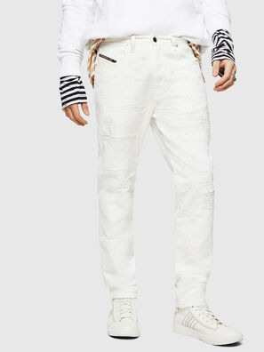 Mharky 069IJ, Blanc - Jeans