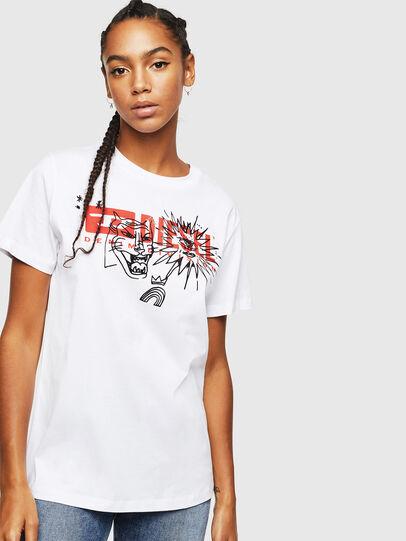 Diesel - T-DARIA-YC, Blanc - T-Shirts - Image 1