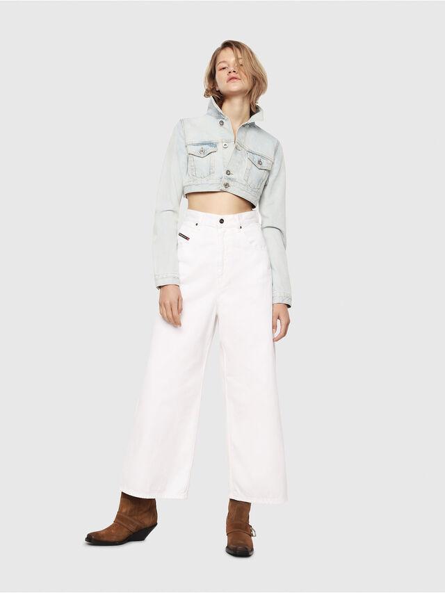 Diesel - D-Luite 069EE, Blanc - Jeans - Image 5