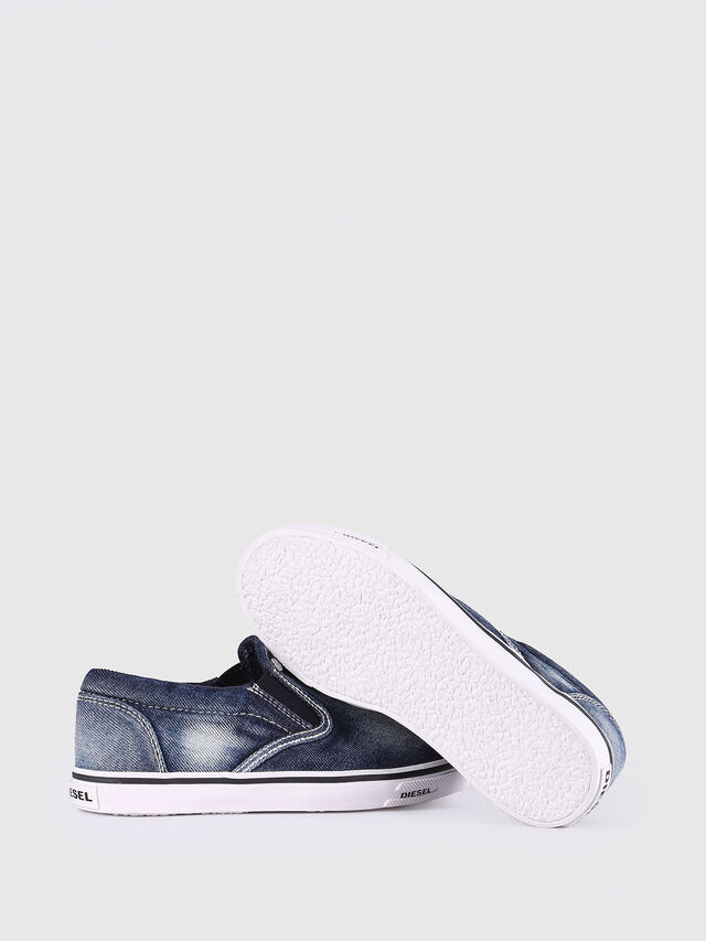 Diesel - SLIP ON 21 DENIM YO, Jean Bleu - Footwear - Image 6