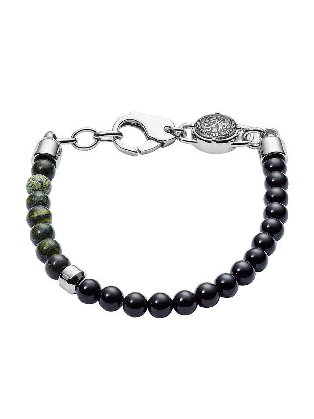 Diesel - BRACELET DX1059, Noir - Bracelets - Image 1