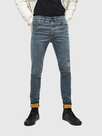 Diesel - D-Reeft JoggJeans 069LT, Bleu Foncé - Jeans - Image 1