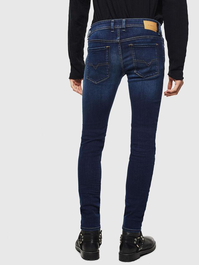 Diesel Sleenker 084RI, Bleu Foncé - Jeans - Image 2