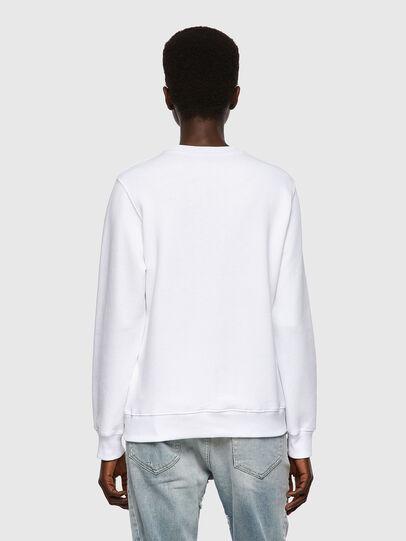 Diesel - F-ANGS-B1, Blanc - Pull Cotton - Image 2