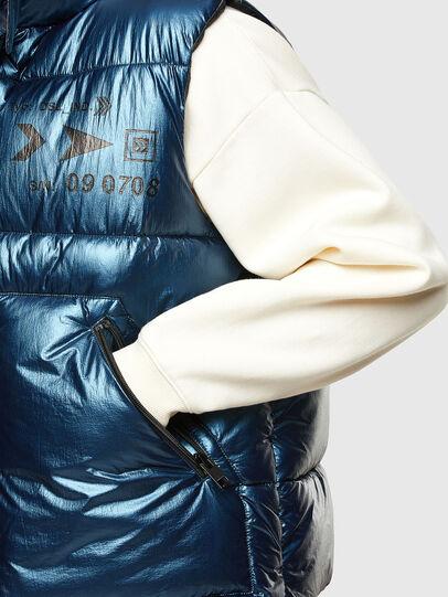 Diesel - W-SELLERS, Bleu - Vestes d'hiver - Image 5