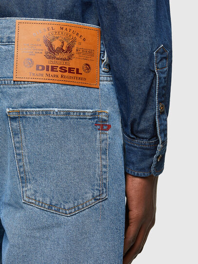 Diesel - D-STRUKT-SHORT, Bleu Clair - Shorts - Image 4