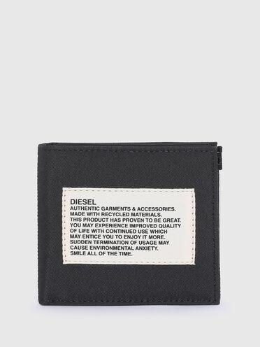 Portefeuille à rabat label vert