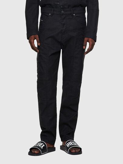 Diesel - D-VIDER JoggJeans® 0DDAX, Noir/Gris foncé - Jeans - Image 1
