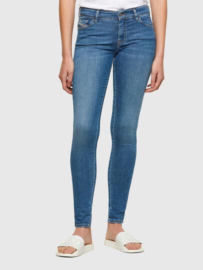 Diesel - Slandy 069RR, Bleu Clair - Jeans - Image 1