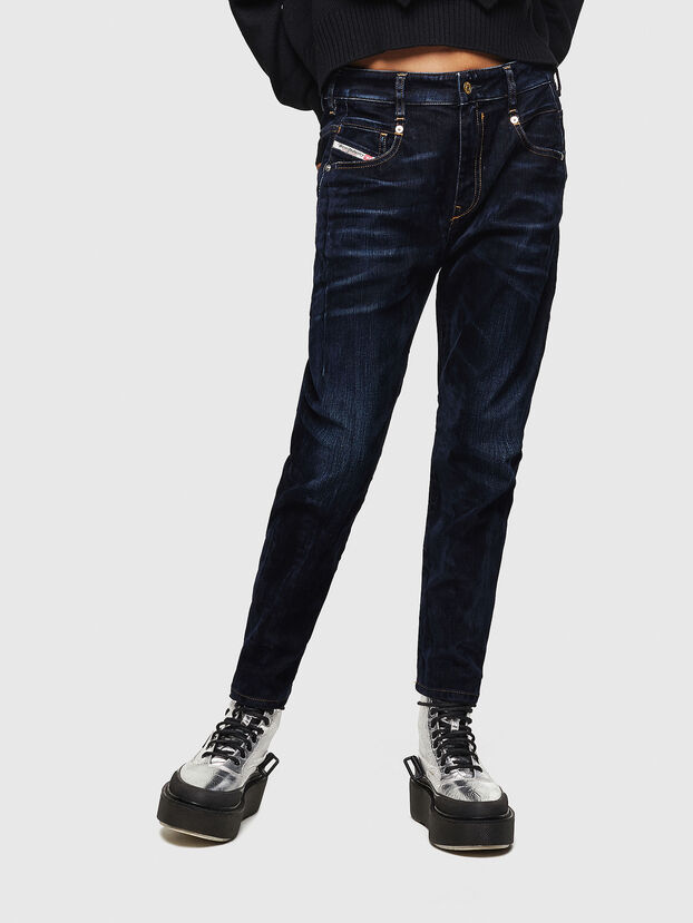 Fayza 0091U, Bleu Foncé - Jeans