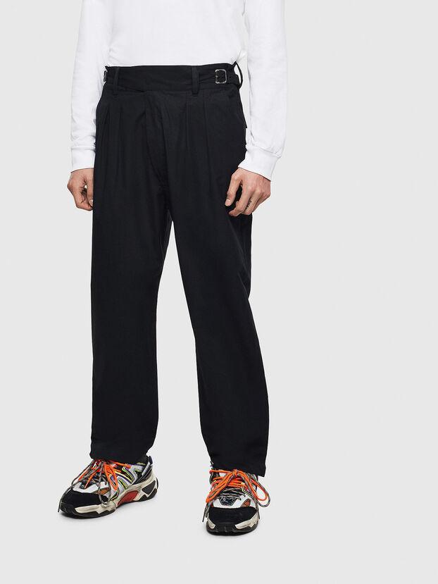 P-COOLE, Noir - Pantalons