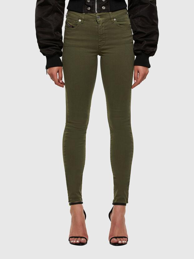 D-Roisin 0096H, Vert Militaire - Jeans