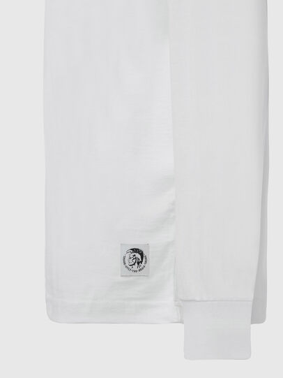 Diesel - T-JUST-LS-MOHI, Blanc - T-Shirts - Image 3