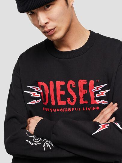 Diesel - CL-SNOR-LITMA, Noir - Pull Cotton - Image 4