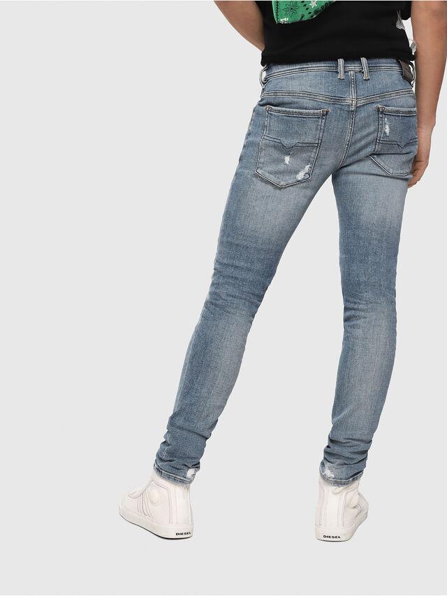 Diesel - Sleenker 086AT, Bleu Clair - Jeans - Image 2