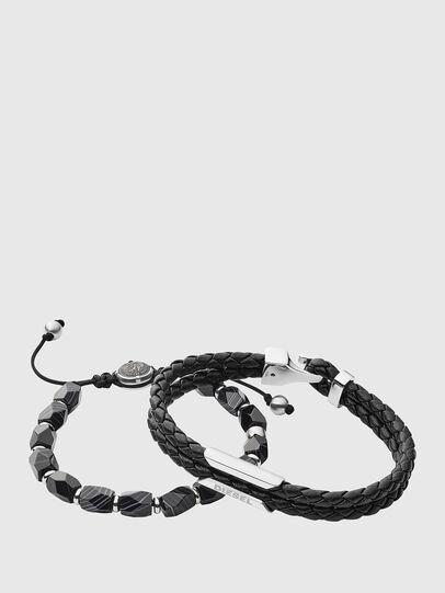Diesel - DX1242, Noir - Bracelets - Image 1