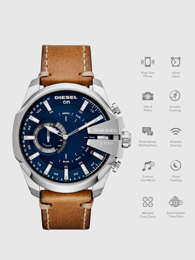 Diesel - DT1009, Marron - Smartwatches - Image 1