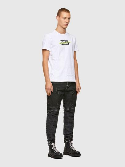 Diesel - T-DIEGOS-A3, Blanc - T-Shirts - Image 4