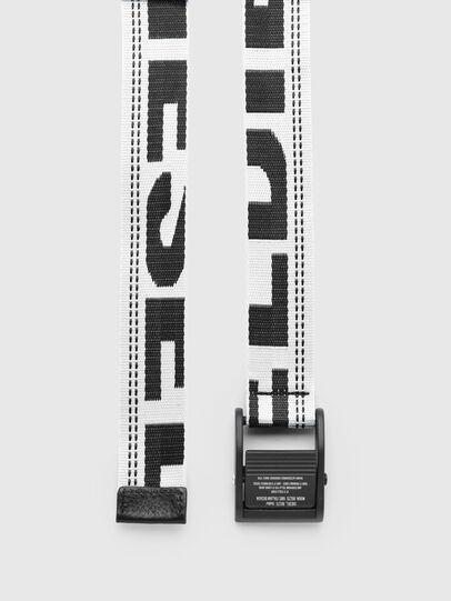 Diesel - B-MASER, Blanc/Noir - Ceintures - Image 3