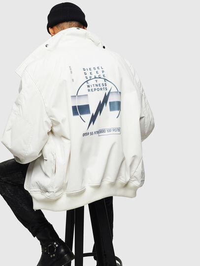Diesel - W-OKSO, Blanc - Vestes d'hiver - Image 6