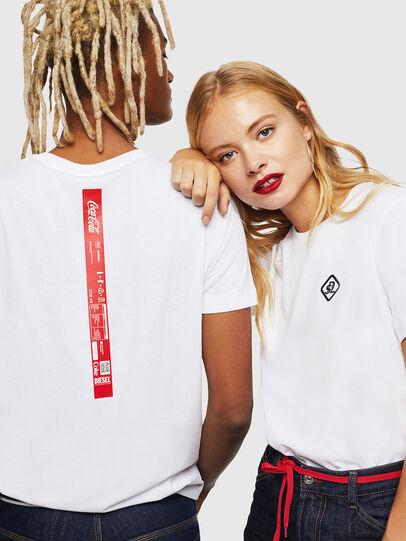Diesel - CC-T-DIEGO-COLA, Blanc - T-Shirts - Image 6