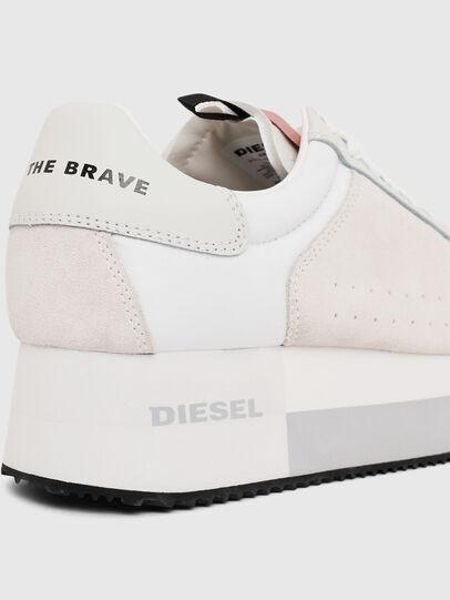 Diesel - S-PYAVE WEDGE, Blanc/Rose - Baskets - Image 4