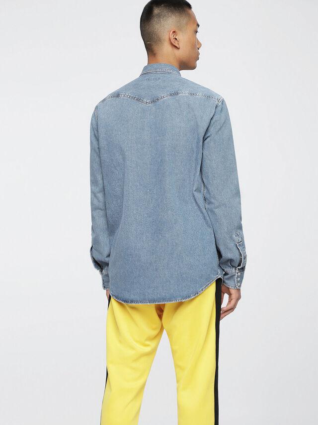 Diesel - D-ROOKE, Jean Bleu - Chemises en Denim - Image 2