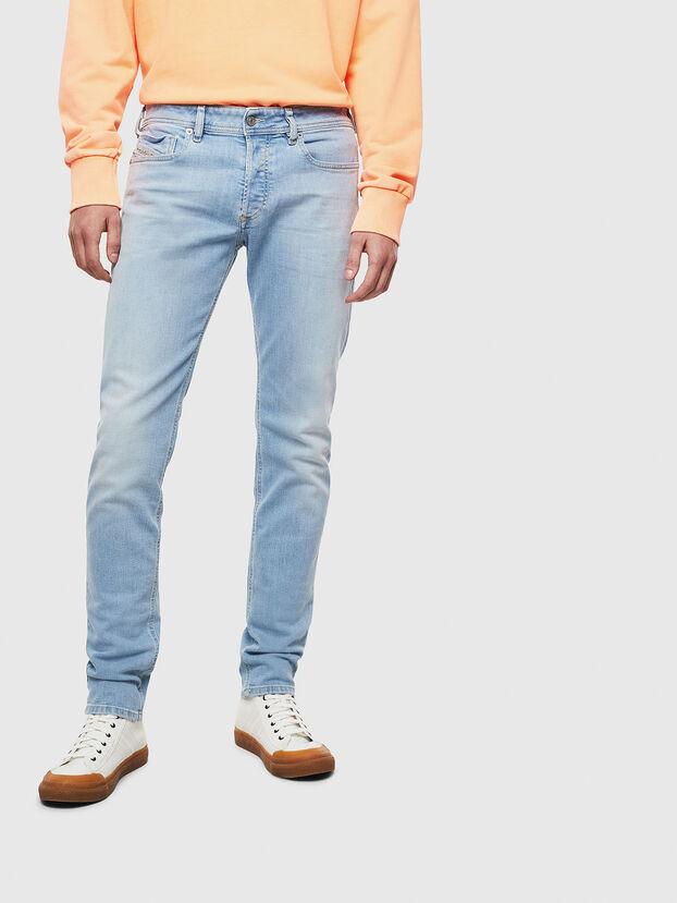 Sleenker 009BJ, Bleu Clair - Jeans