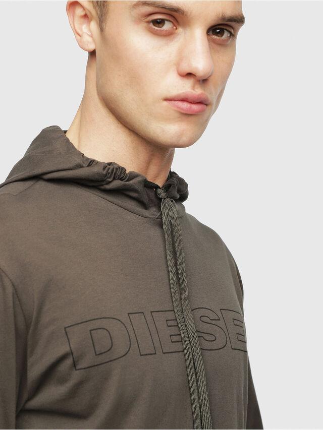 Diesel - UMLT-JIMMY, Vert Militaire - T-Shirts - Image 3