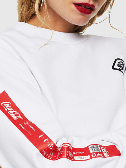 Diesel - CC-S-BAY-COLA, Blanc - Pull Cotton - Image 5