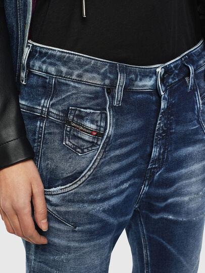 Diesel - Fayza JoggJeans 0096M, Bleu Foncé - Jeans - Image 3
