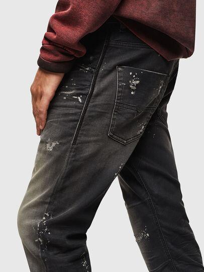 Diesel - Krooley JoggJeans 084AE, Noir/Gris foncé - Jeans - Image 4
