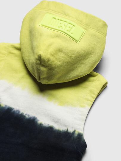 Diesel - SELBYDEEPB, Bleu/Jaune - Pull Cotton - Image 5