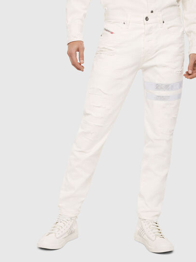Diesel - Mharky 069EC, Blanc - Jeans - Image 1