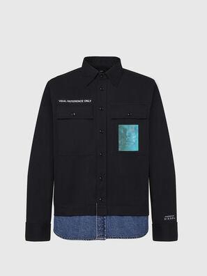 S-DUSTIN, Noir - Chemises