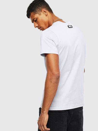 Diesel - T-DIEGO-T16, Blanc - T-Shirts - Image 2