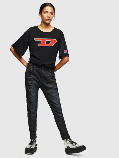 Diesel - Fayza JoggJeans 069GP, Noir/Gris foncé - Jeans - Image 5