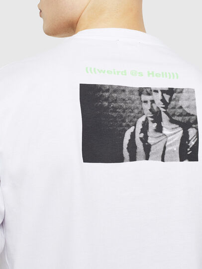 Diesel - T-JUSTLY, Blanc - T-Shirts - Image 4