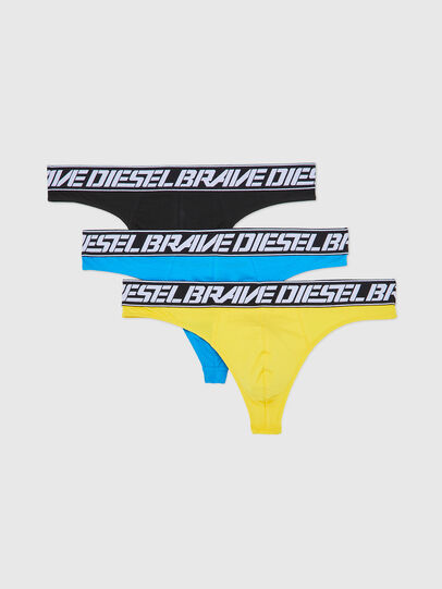 Diesel - UMBR-STRINGTHREEPACK, Multicolore - Culottes - Image 1