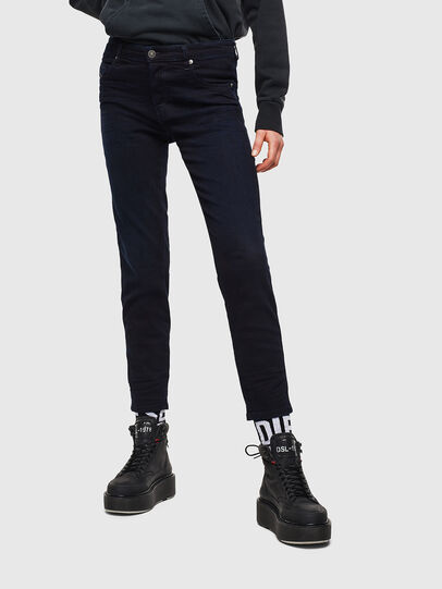 Diesel - Babhila 0095X, Bleu Foncé - Jeans - Image 1