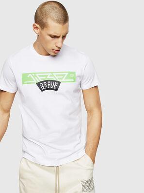 T-DIEGO-A1, Blanc - T-Shirts