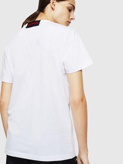Diesel - LCP-T-DIEGO-NAIROBI, Blanc - T-Shirts - Image 4