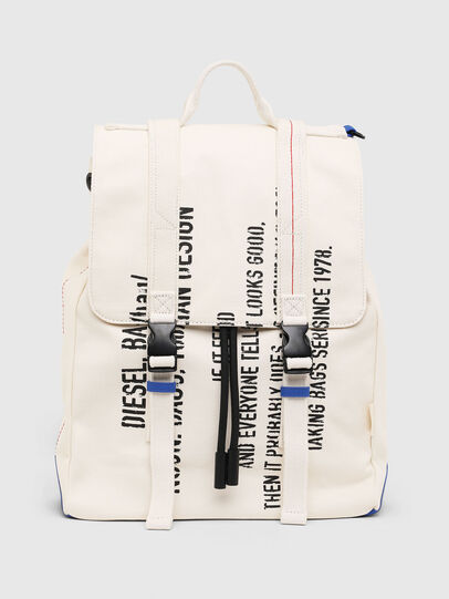 Diesel - VOLPAGO BACK, Blanc - Sacs à dos - Image 1