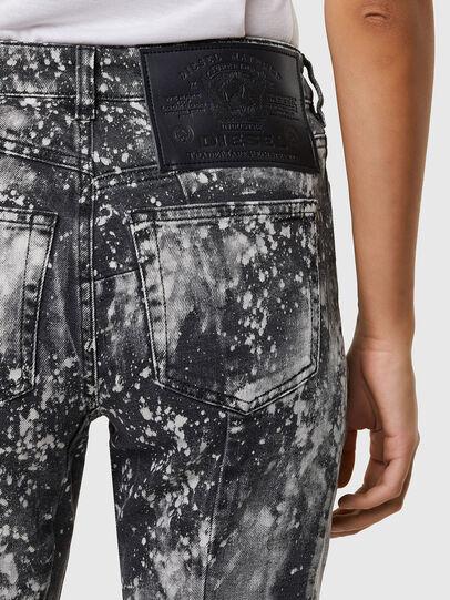 Diesel - D-Joy 009SW, Gris Clair - Jeans - Image 4
