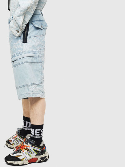 Diesel - D-LUK-SHORT, Bleu Clair - Shorts - Image 3